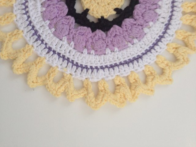 Sharon's Crochet Contribution to Mandalas for Marinke
