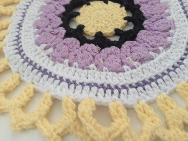 Sharon's Crochet Contribution to Mandalas for Marinke