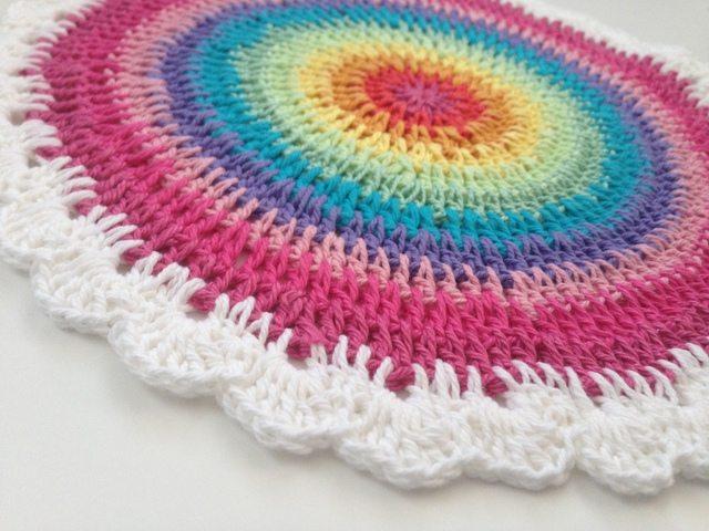 Ali's Crochet Contribution to Mandalas for Marinke