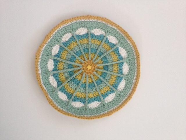 Priscilla's Crochet Contribution to Mandalas for Marinke