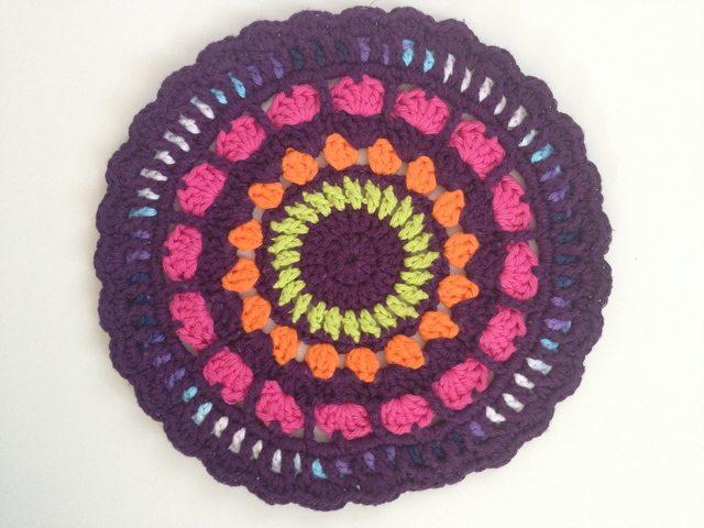 Kat's Crochet Contribution to Mandalas for Marinke