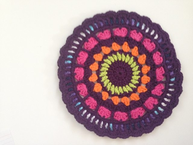 Kat's Crochet Contribution to Mandalas for Marinke