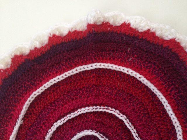 Enchanting Anonymous Crochet Contribution to Mandalas for Marinke