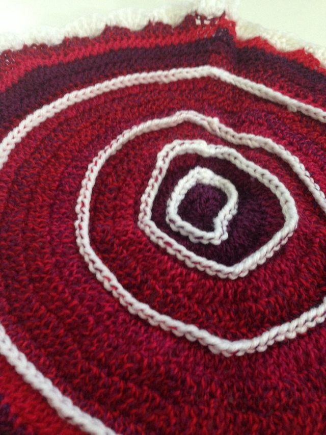 Enchanting Anonymous Crochet Contribution to Mandalas for Marinke