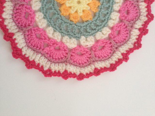 clare's crochet mandala contribution to mandalasformarinke
