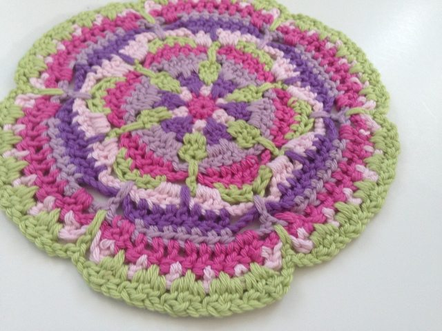 Lynne's Crochet Contribution to Mandalas for Marinke