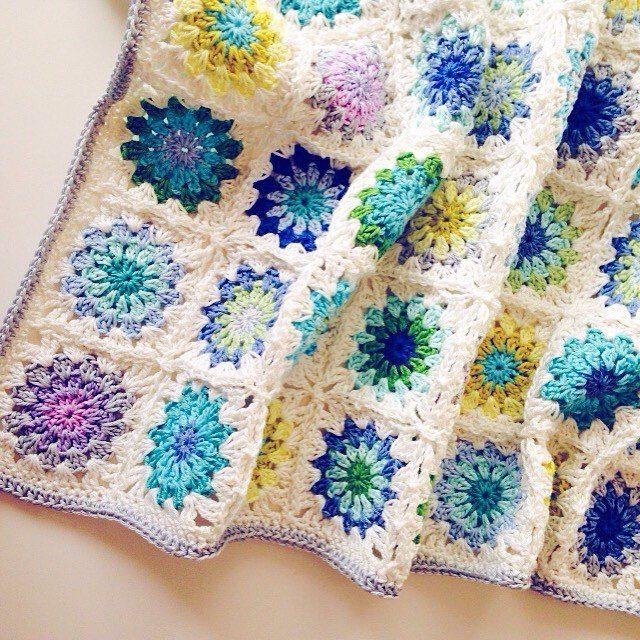 josiemaybunting crochet blanket squares