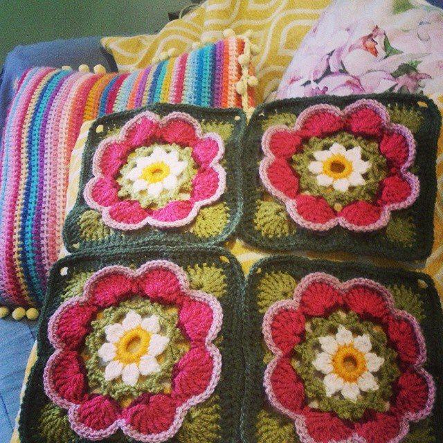 kelly_green72 crochet squares
