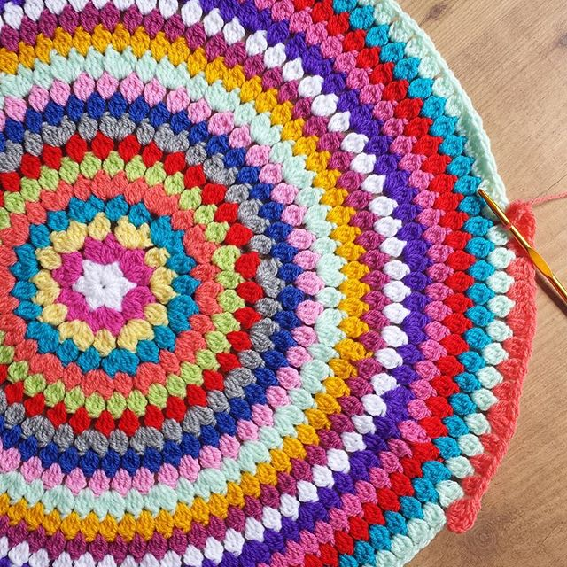 kellyandcrochet colorful crochet