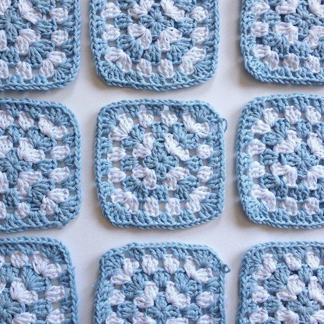 kellyandcrochet crochet granny squares