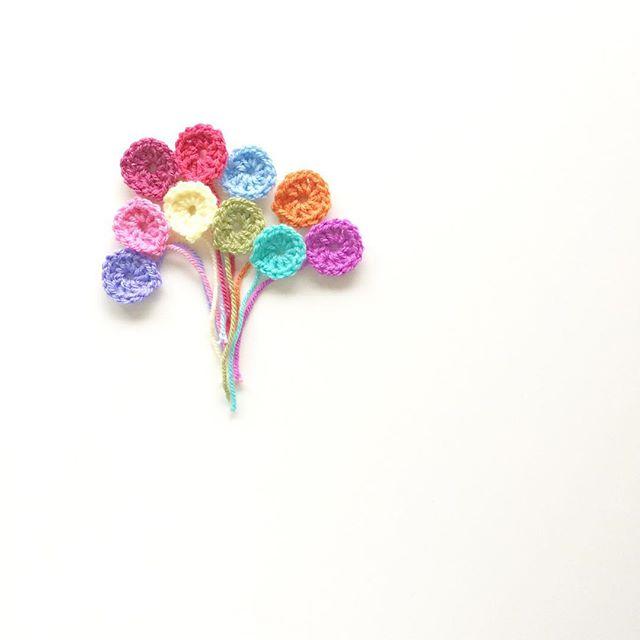 knitpurlhook crochet balloons