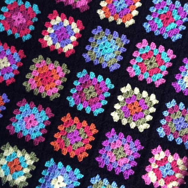 knitpurlhook crochet granny squares