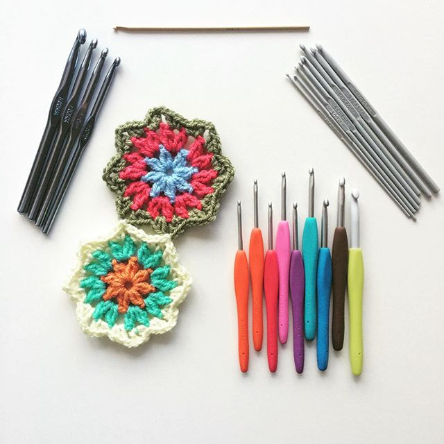 knitpurlhook crochet hooks and motifs