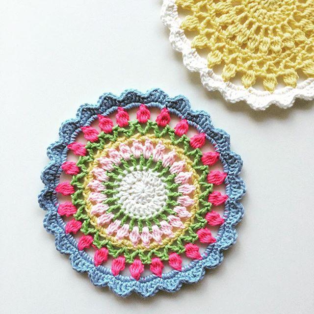 knitpurlhook crochet mandala