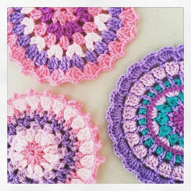 littlebirdbunting crochet mandalas