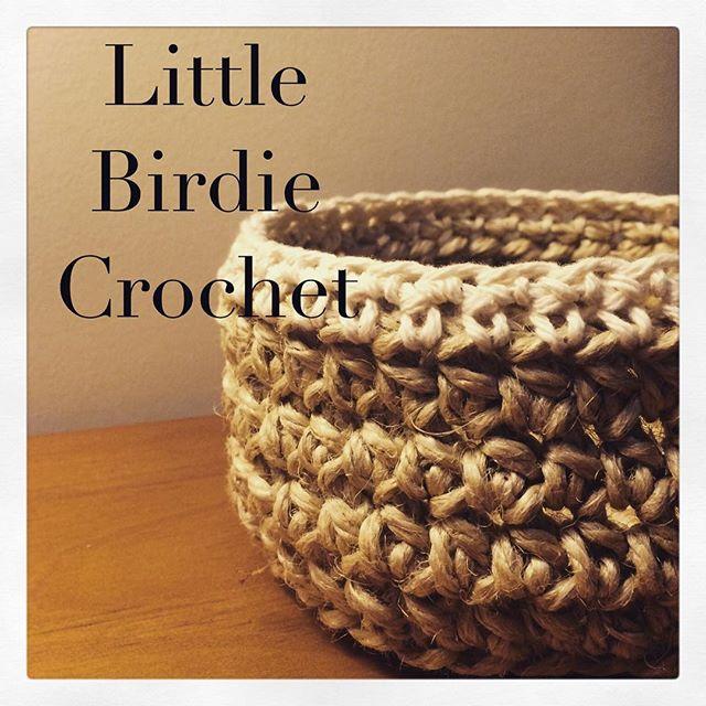 littlebirdiecrochet crochet basket
