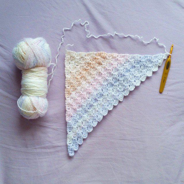 madebylouiza c2c crochet blanket