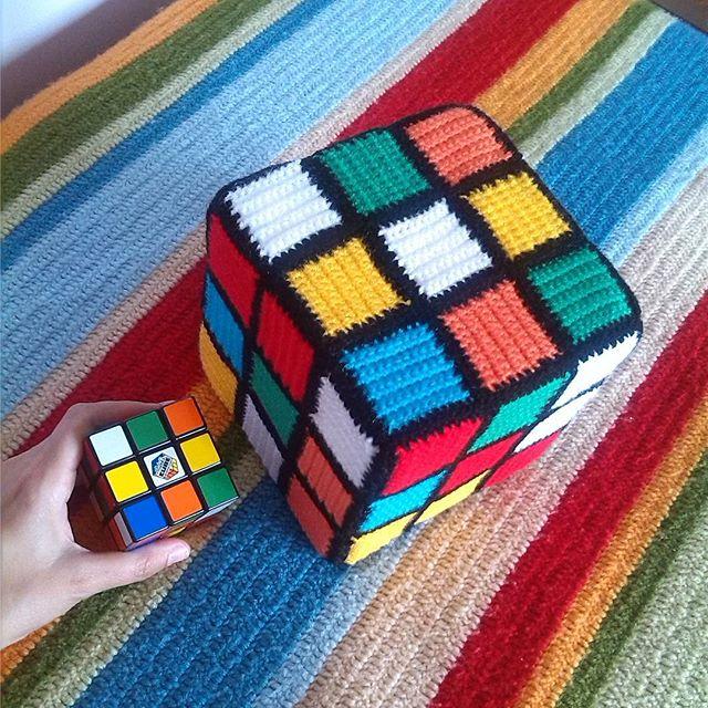 magneticmary crochet rubiks cube