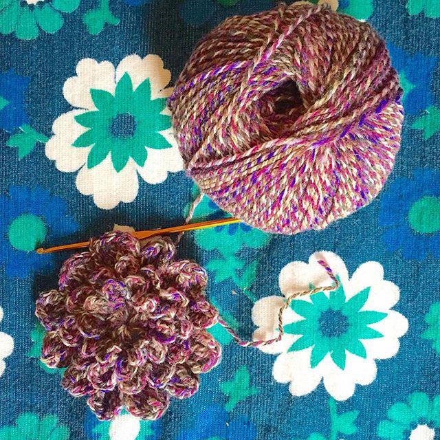 makingpolly crochet flower