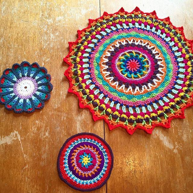 makingpolly crochet mandalas