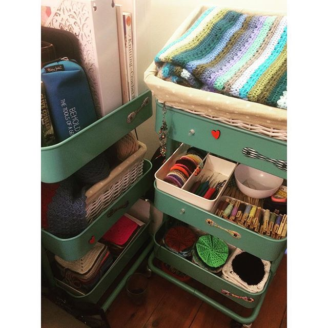 margaretev crochet and yarn organization
