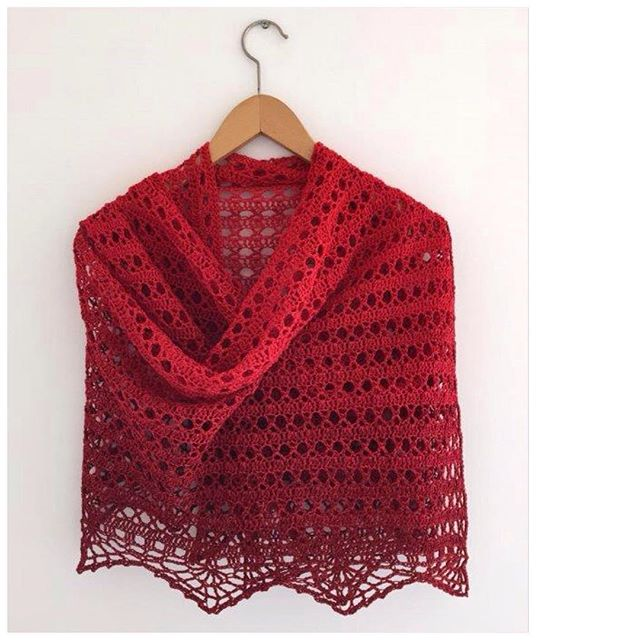 marretjeroos crochet shawl