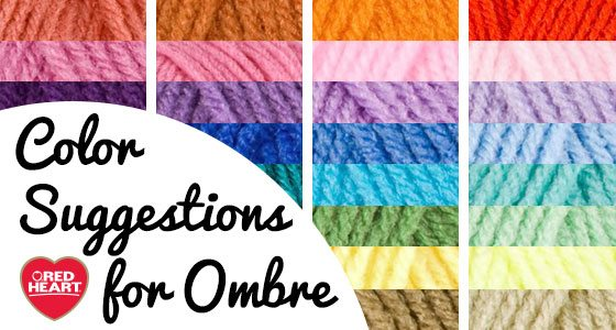 ombre yarn colors