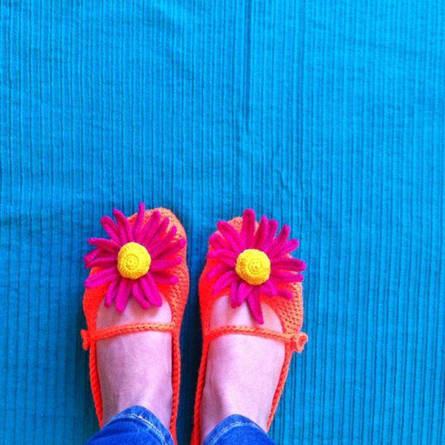 ponytales_ crochet shoes