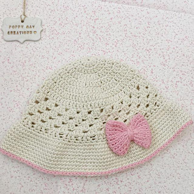 poppymaycreations crochet hat