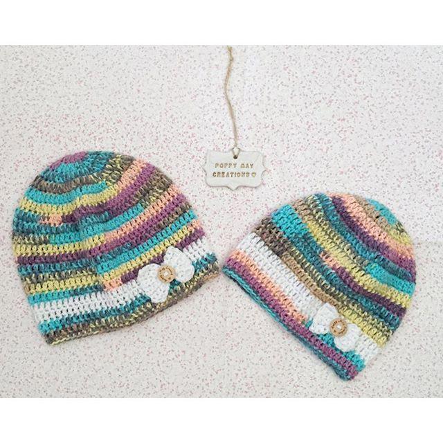 poppymaycreations crochet hats