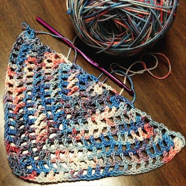 redrocker9 crochet wip