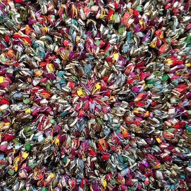 ribbon crochet mandala