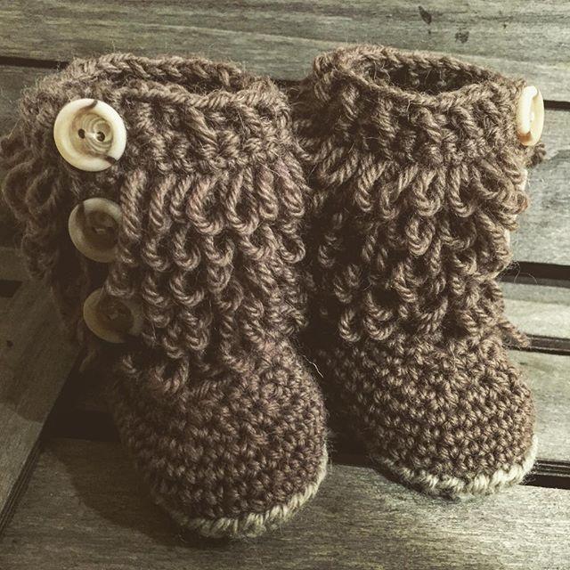 rubyjaneslane crochet baby booties