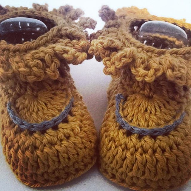 rubyjaneslane crochet booties