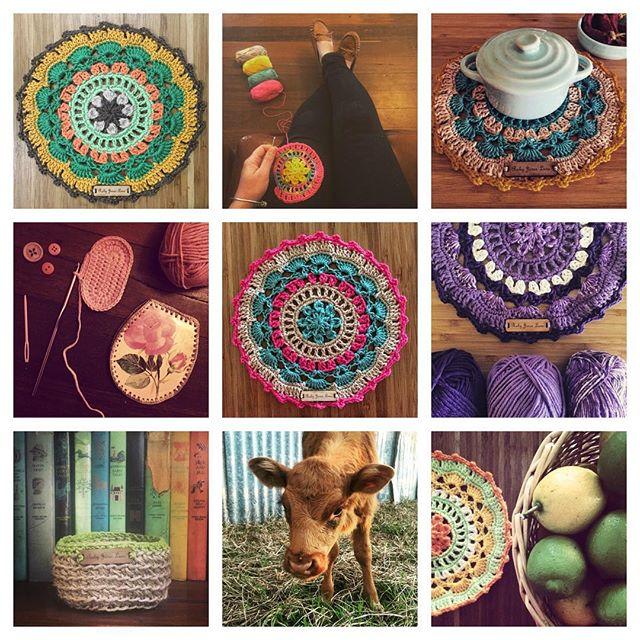 rubyjaneslane crochet collage