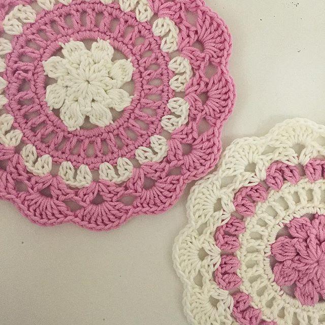 rubyjaneslane crochet mandalas