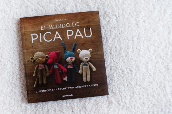 spanish amigurumi crochet book
