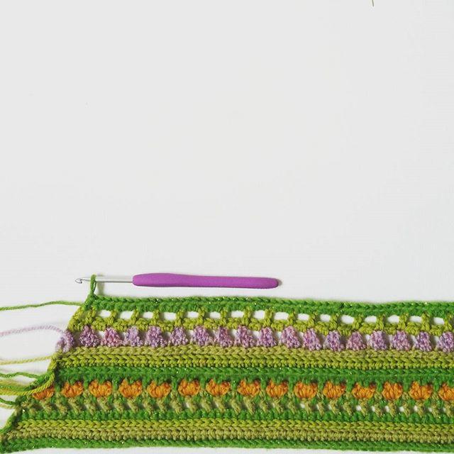 steelandstitch crochet shawl
