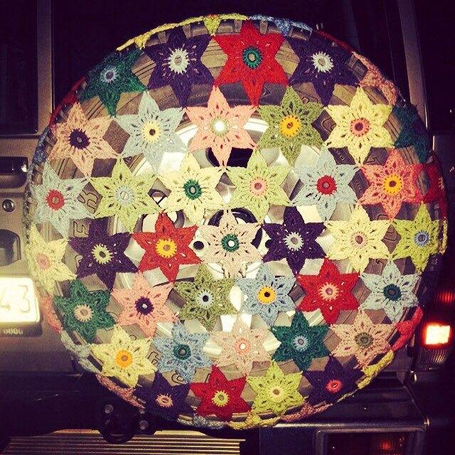 stelcrochet crochet wheel cover