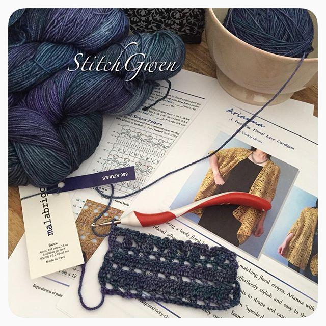 stitchgwen crochet sock yarn