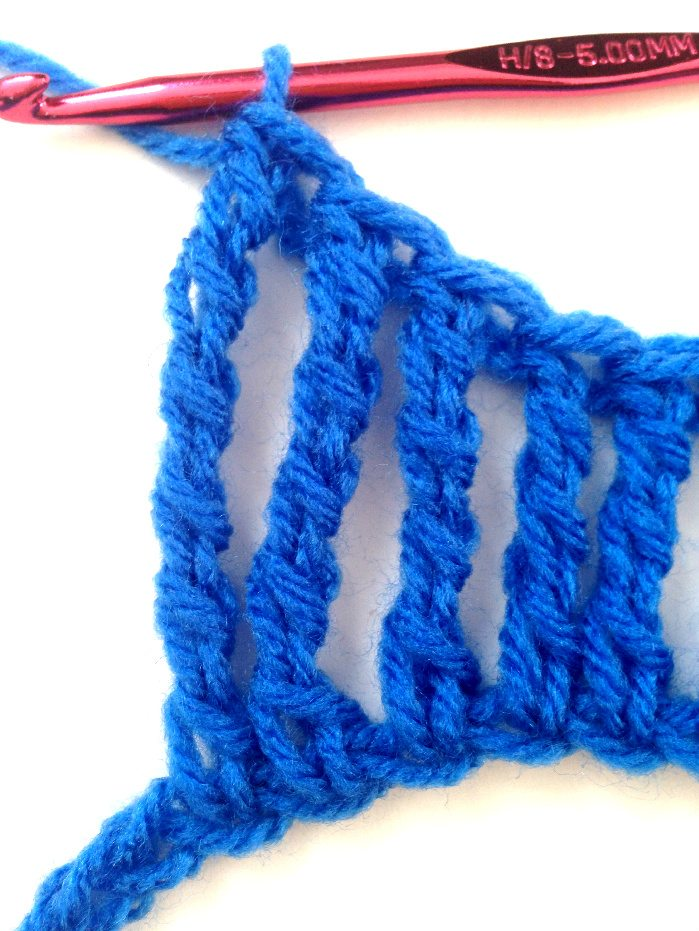 tall stitches crochet tutorial