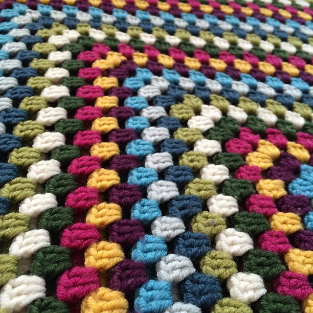 thepolkadotgiraffe crochet granny