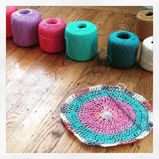 thread crochet mandalasformarinke