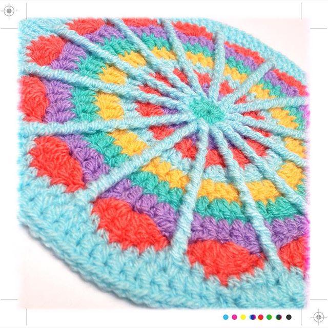 tintocktap crochet mandala