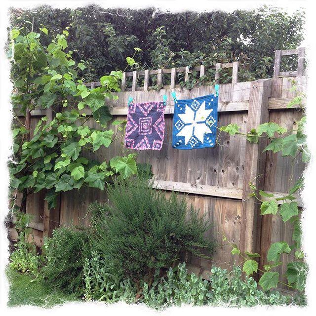 tintocktap tapestry crochet squares