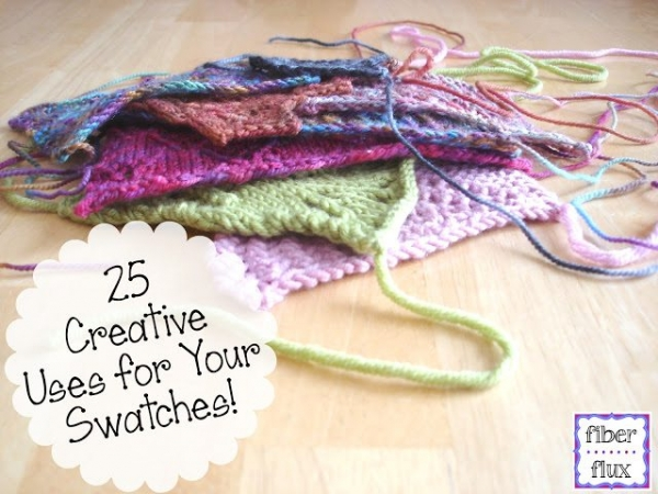 use yarn swatches
