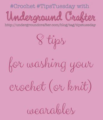 washing crochet