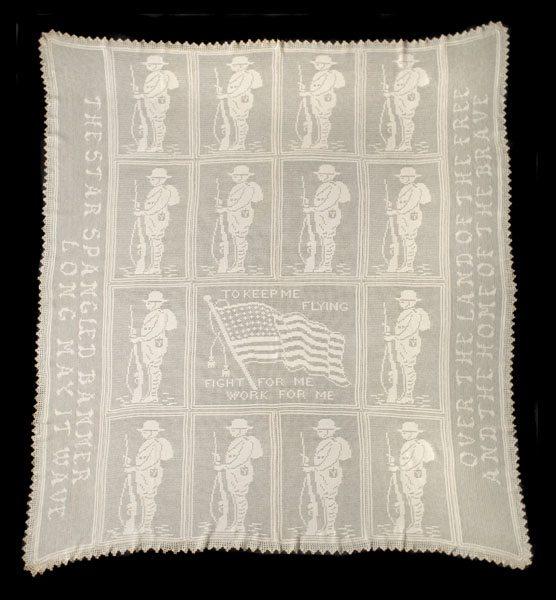 ww1 crochet bedspread