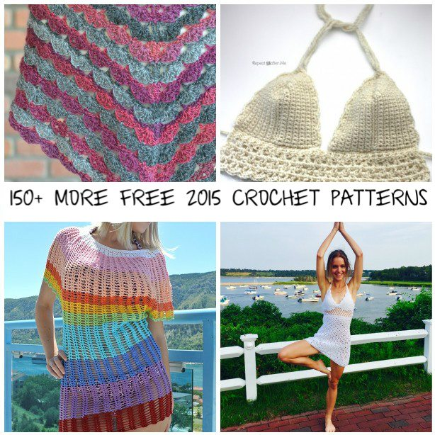 150 free crochet patterns