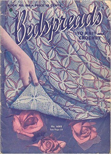 1942 bedspreads to knit and crochet